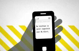 NL-Alert te zien op vertrekborden bus, tram en metro