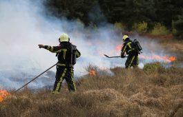 Landelijk ruim 2.800 brandweer inzetten als gevolg van natuurbranden