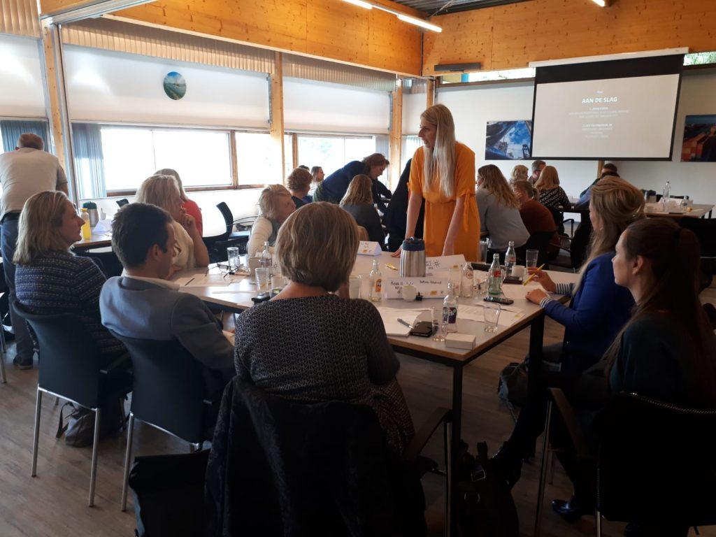 Deelnemers in zaal tijdens de risicocommunicatiedag