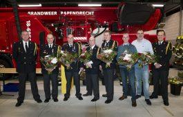 Koninklijke Onderscheidingen voor zes brandweerlieden