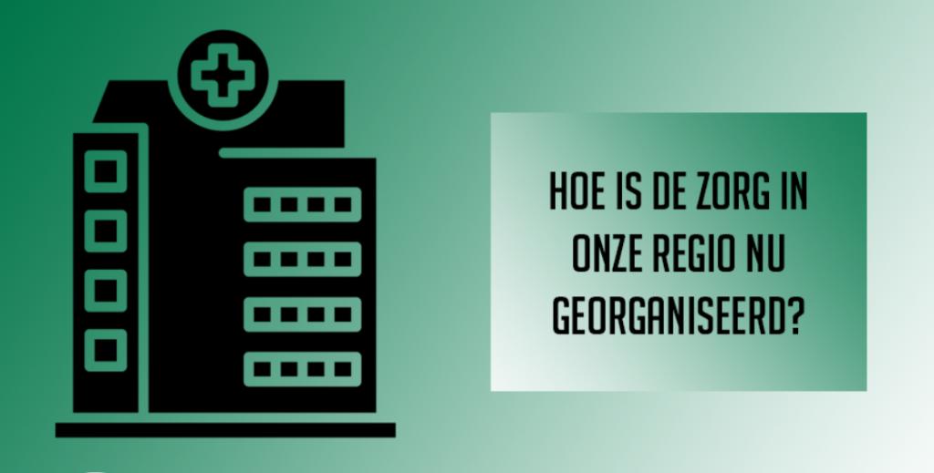 Visual GHOR over de organisatie van de zorg in de regio