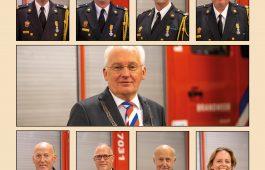 Koninklijke onderscheidingen uitgereikt bij brandweer Sliedrecht