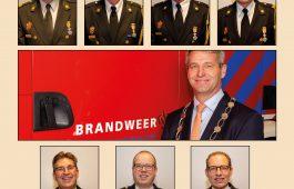 Koninklijke onderscheiding voor brandweervrijwilligers Hardinxveld-Giessendam