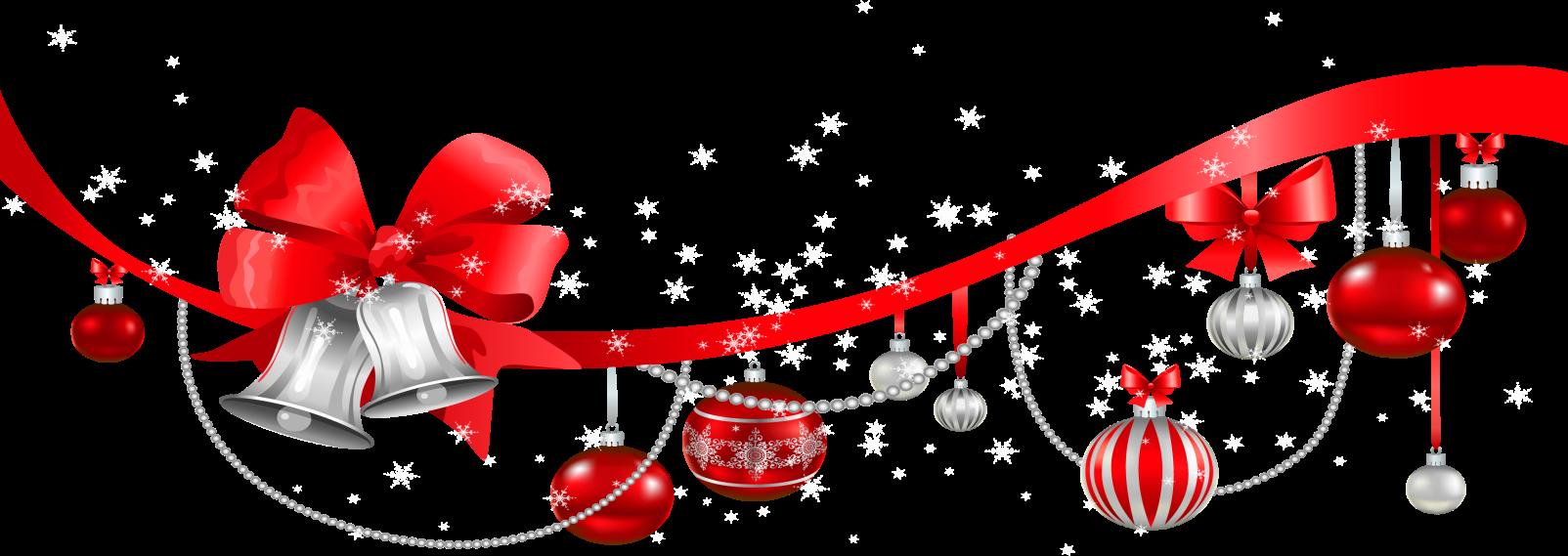 Kerstlint met ballen en bellen