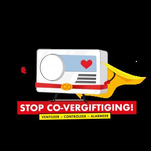 Stop CO-vergiftiging