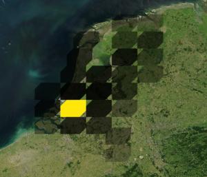 Locatie van Veiligheidsregio Zuid-Holland Zuid op landkaart